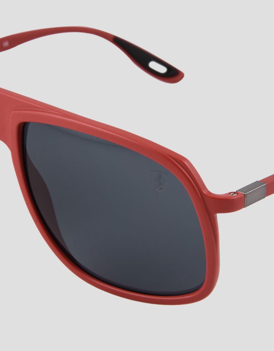 Scuderia Ferrari Online Store - Ray-Ban x Scuderia Ferrari 0RB4308M red sunglasses - Sunglasses