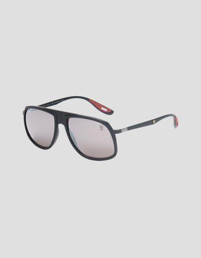 86e7997cf1 Ray-Ban x Scuderia Ferrari 0RB4308M black sunglasses ...
