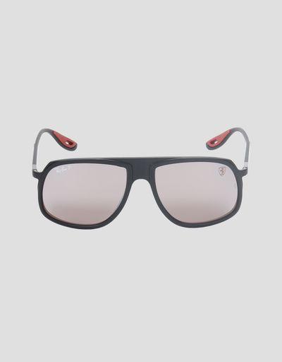 Солнцезащитные очки 0RB4308M от Ray-Ban для Scuderia Ferrari чёрного цвета 751db6ae6e9