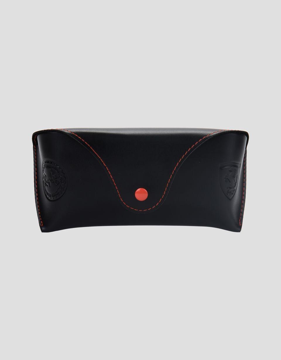 Scuderia Ferrari Online Store - Ray-Ban x Scuderia Ferrari 0RB4308M black sunglasses - Sunglasses