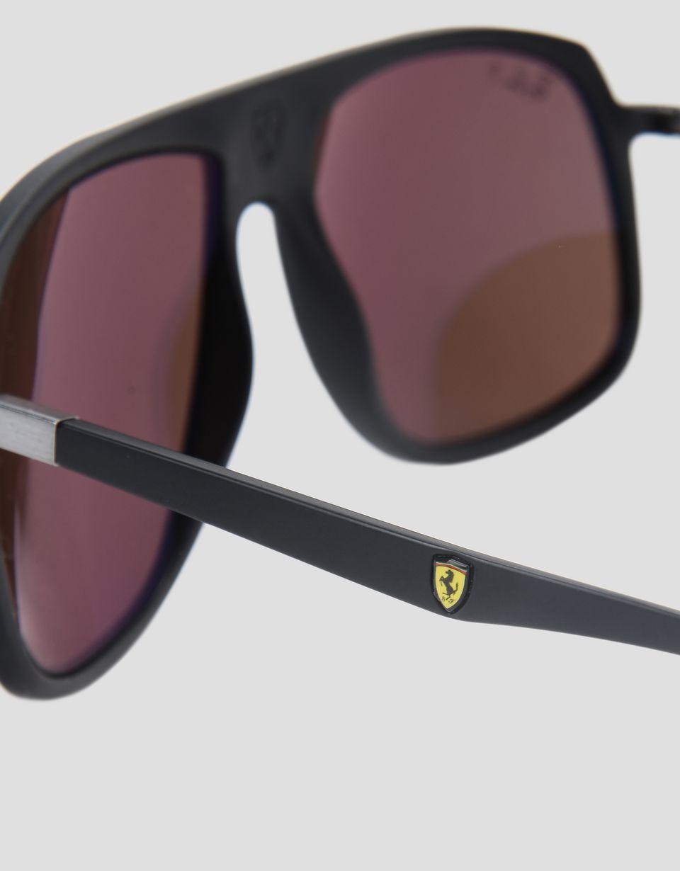 Scuderia Ferrari Online Store - Ray-Ban x Scuderia Ferrari 0RB4308M black sunglasses -