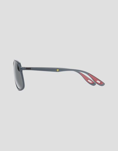 Scuderia Ferrari Online Store - Ray-Ban for Scuderia Ferrari 0RB4308M Grau - Sonnenbrillen