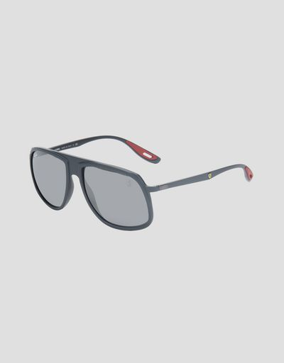 a0f08b5933 Ray-Ban x Scuderia Ferrari 0RB4308M grey sunglasses ...