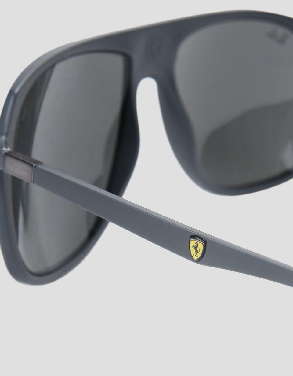 Scuderia Ferrari Online Store - Ray-Ban x Scuderia Ferrari 0RB4308M gray sunglasses -