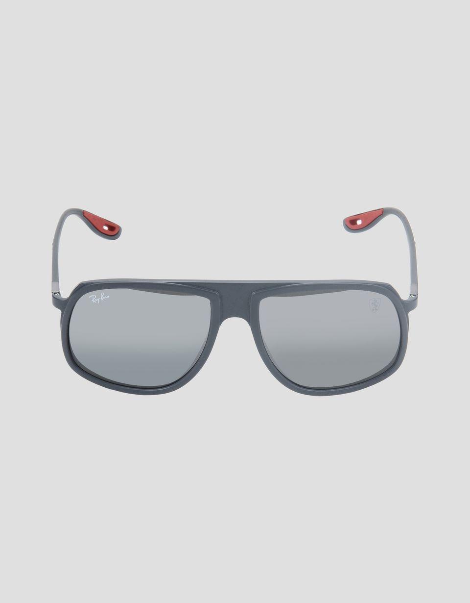 Scuderia Ferrari Online Store - Ray-Ban x Scuderia Ferrari 0RB4308M grey sunglasses - Sunglasses