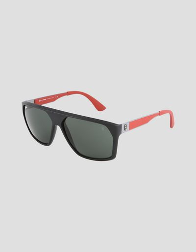 4375040a585348 Lunettes de soleil Ray-Ban pour Scuderia Ferrari 0RB4309M couleur noir ...