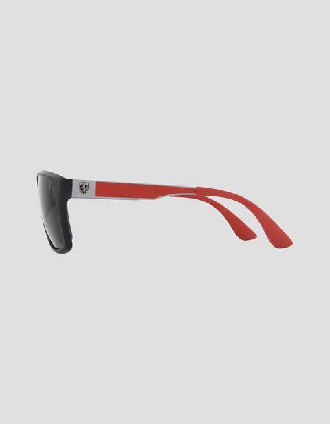 Scuderia Ferrari Online Store - Ray-Ban x Scuderia Ferrari 0RB4309M black sunglasses -