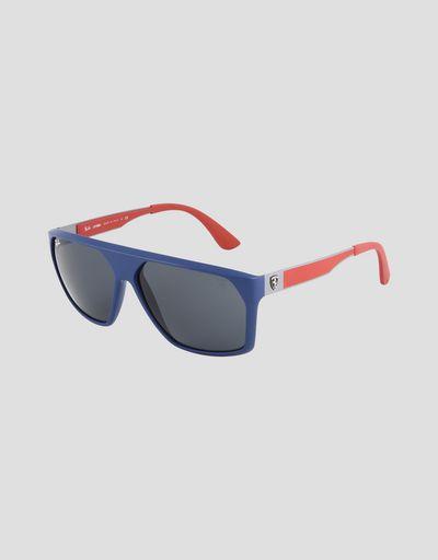 2deb3190f80dc Ray-Ban x Scuderia Ferrari 0RB4309M blue sunglasses ...
