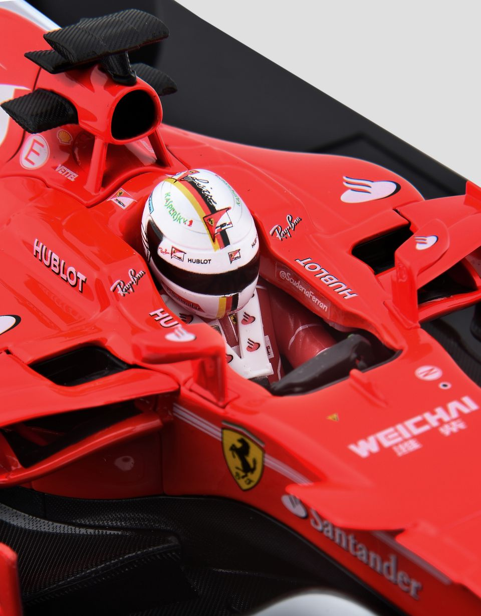 Scuderia Ferrari Online Store - SF70H Vettel 1:18 scale model - Car Models 01:18