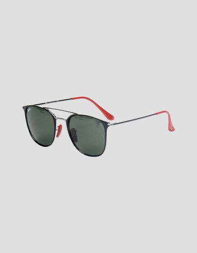 Ray-Ban for Scuderia Ferrari 0RB3601M nero e canna di fucile