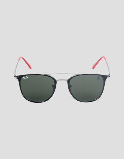 Ray-Ban x Scuderia Ferrari 0RB8351M black and gunmetal sunglasses