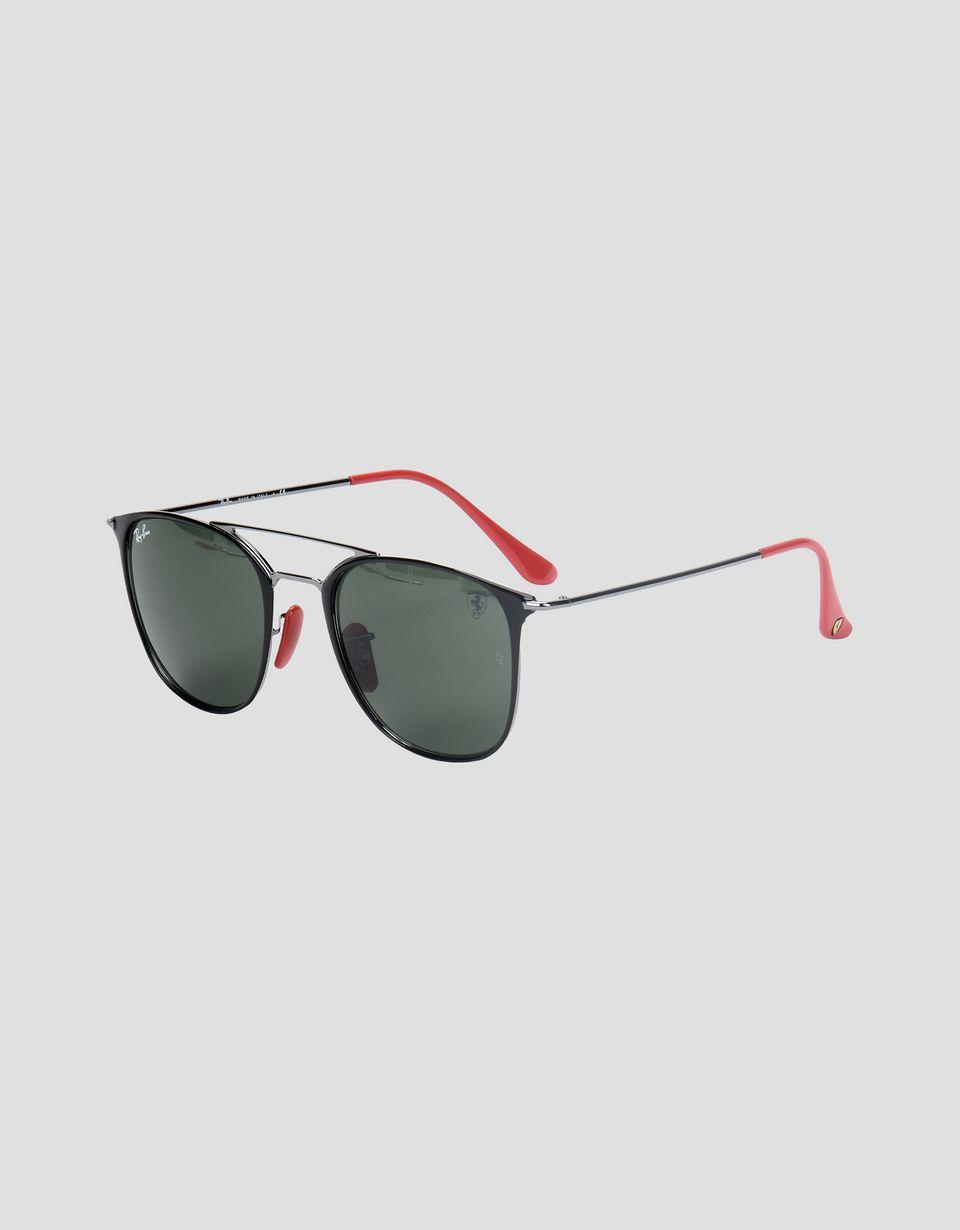 Scuderia Ferrari Online Store - Ray-Ban for Scuderia Ferrari 0RB3601M Schwarz und Metallgrau - Sonnenbrillen