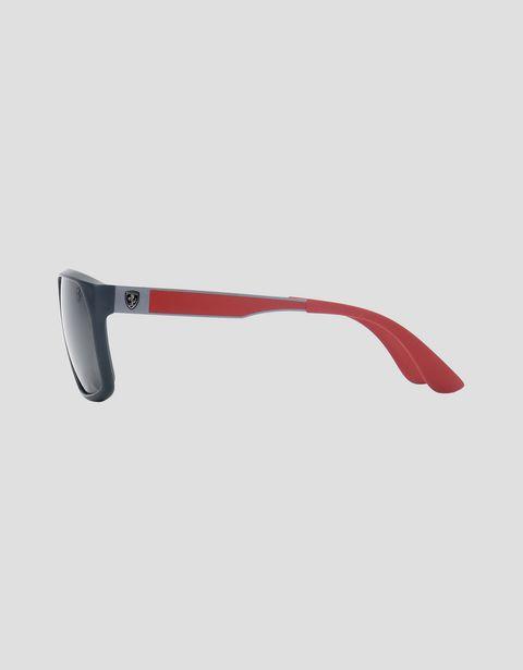 Scuderia Ferrari Online Store - Ray-Ban x Scuderia Ferrari 0RB4309M gray sunglasses - Sunglasses