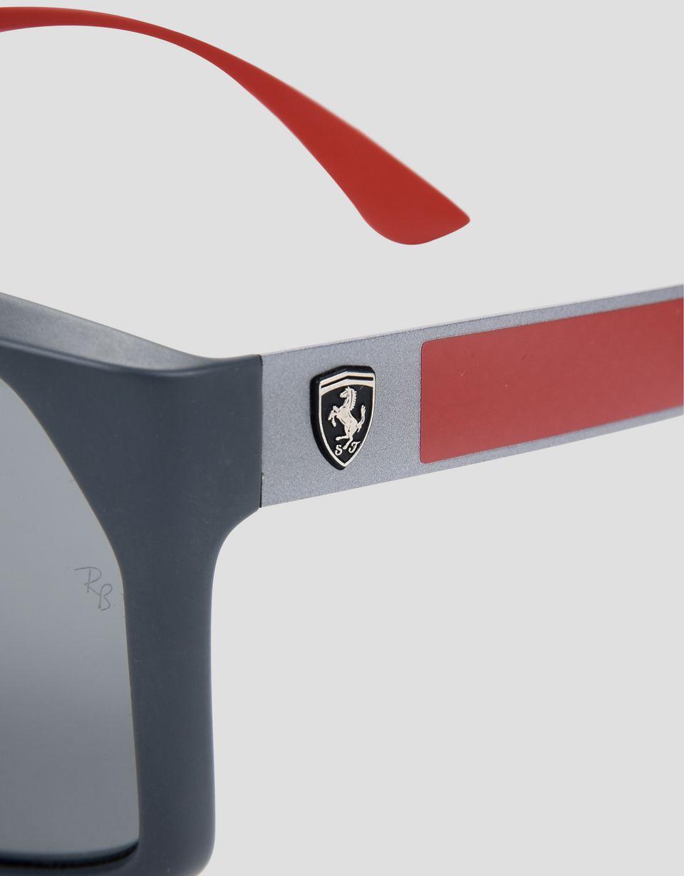 Scuderia Ferrari Online Store - Ray-Ban x Scuderia Ferrari 0RB4309M grey sunglasses - Sunglasses