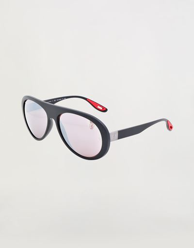 Ray-Ban x Scuderia Ferrari 0RB4310M  black sunglasses