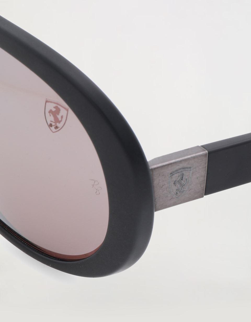 Scuderia Ferrari Online Store - Ray-Ban x Scuderia Ferrari 0RB4310M black sunglasses -