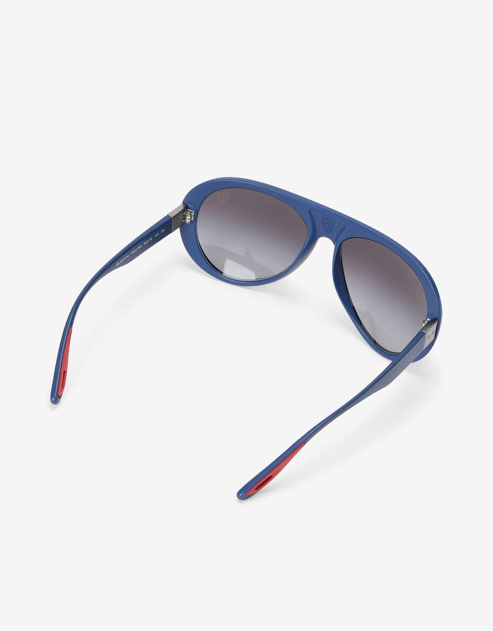 Scuderia Ferrari Online Store - Солнцезащитные очки 0RB4310M от Ray-Ban для Scuderia Ferrari синего цвета - Солнцезащитные очки
