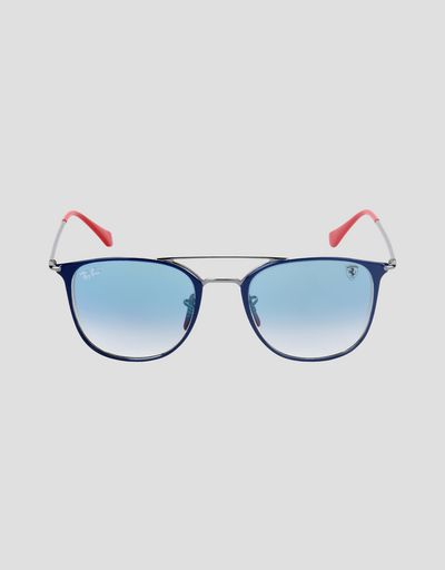 Ray-Ban x Scuderia Ferrari 0RB0RB3601M blue and gunmetal sunglasses