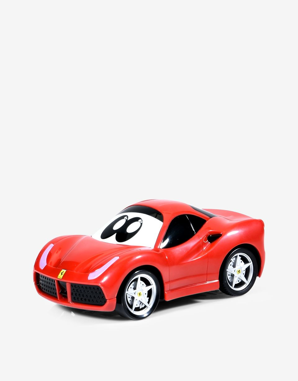 Scuderia Ferrari Online Store - Three play options <br/>Working headlights <br/> Length: 13 cm / 5.1 in. <br/>Recommended age: 24m+<br> - Toy Cars