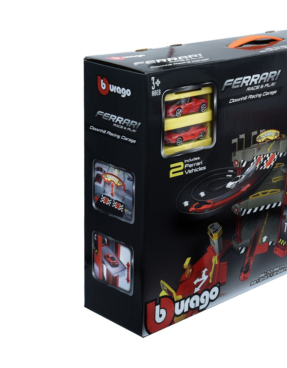 Scuderia Ferrari Online Store - 1:43 scale Ferrari Downhill Racing Garage - Toy Cars