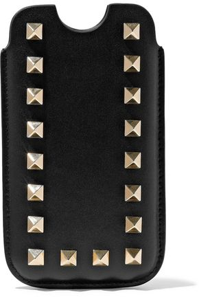 VALENTINO Rockstud leather iPhone 5/5S/SE case