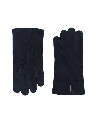 ELEVENTY Herren Handschuhe Dunkelblau Größe L 100% Schaf