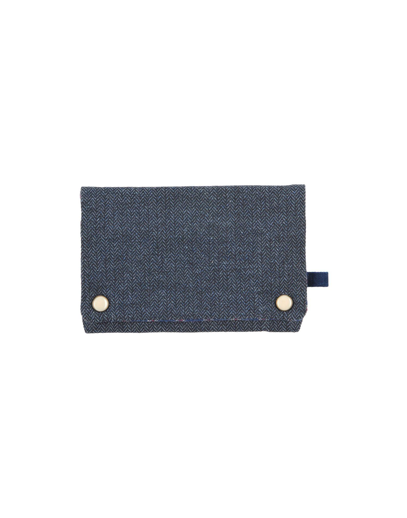 《送料無料》FANGOTANGO メンズ ポーチ ブルーグレー 紡績繊維