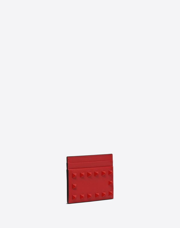 Lacquer Rockstud Card Case
