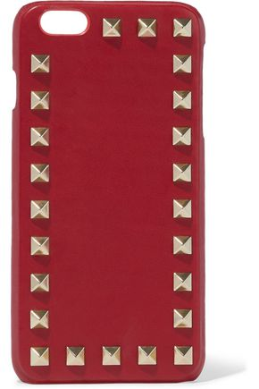 VALENTINO Rockstud leather iPhone 6 Plus case