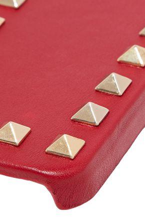 VALENTINO GARAVANI Studded leather iPhone 5 case