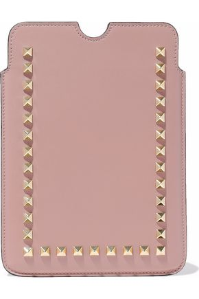 VALENTINO Rockstud leather iPad Mini case