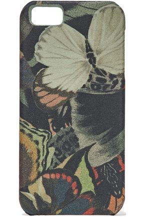 VALENTINO GARAVANI Printed canvas iPhone case
