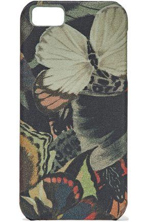 VALENTINO GARAVANI Printed canvas iPhone case
