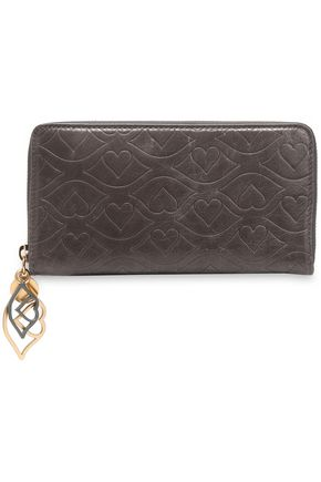 SEE BY CHLOÉ Embellished embossed leather wallet
