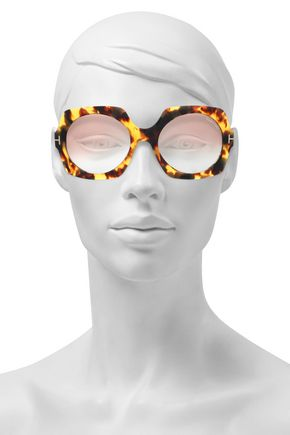 bc0fa0f38f TOM FORD Square-frame tortoiseshell acetate and gold-tone sunglasses