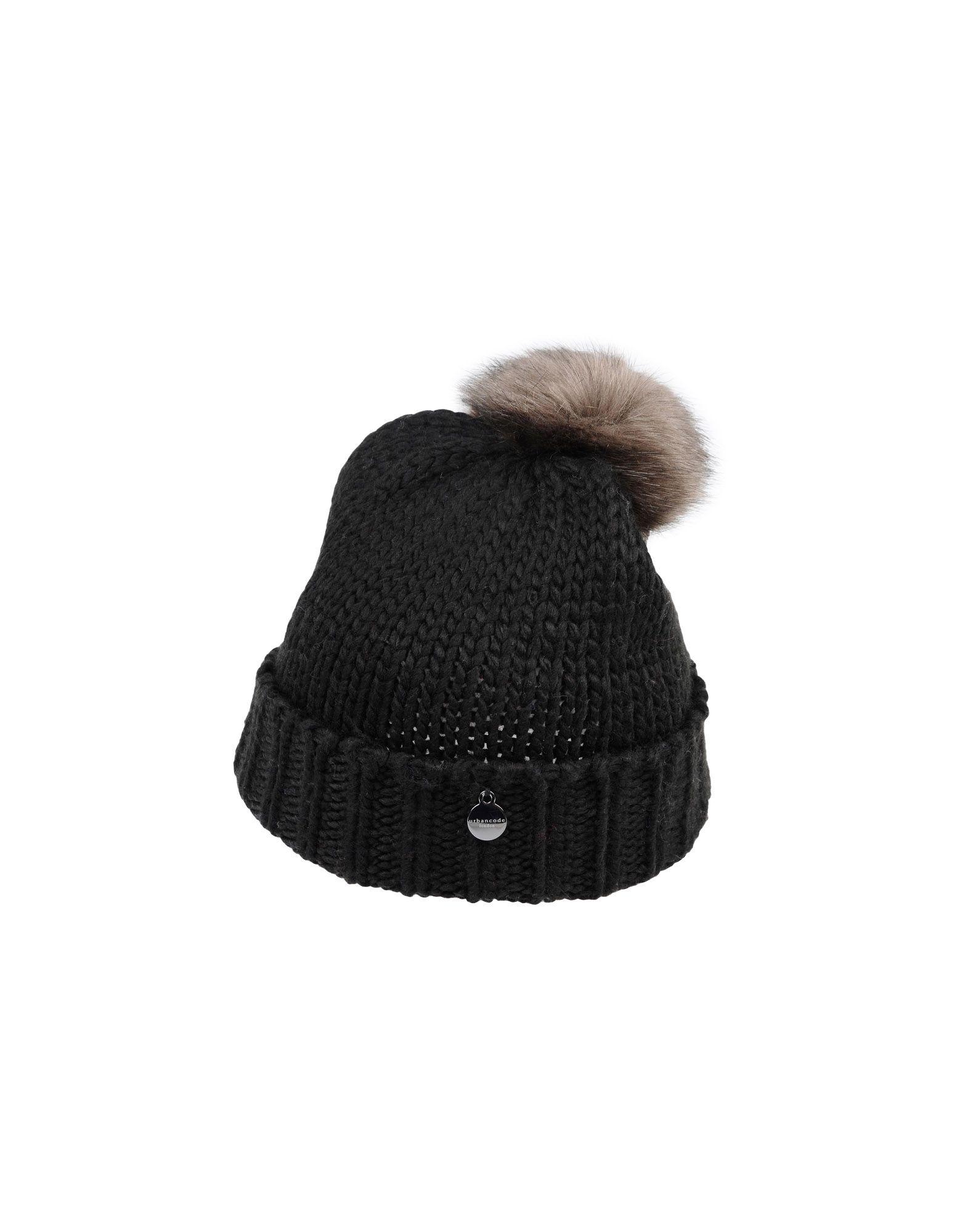 URBANCODE Damen Mützen & Hüte Farbe Schwarz Größe 1