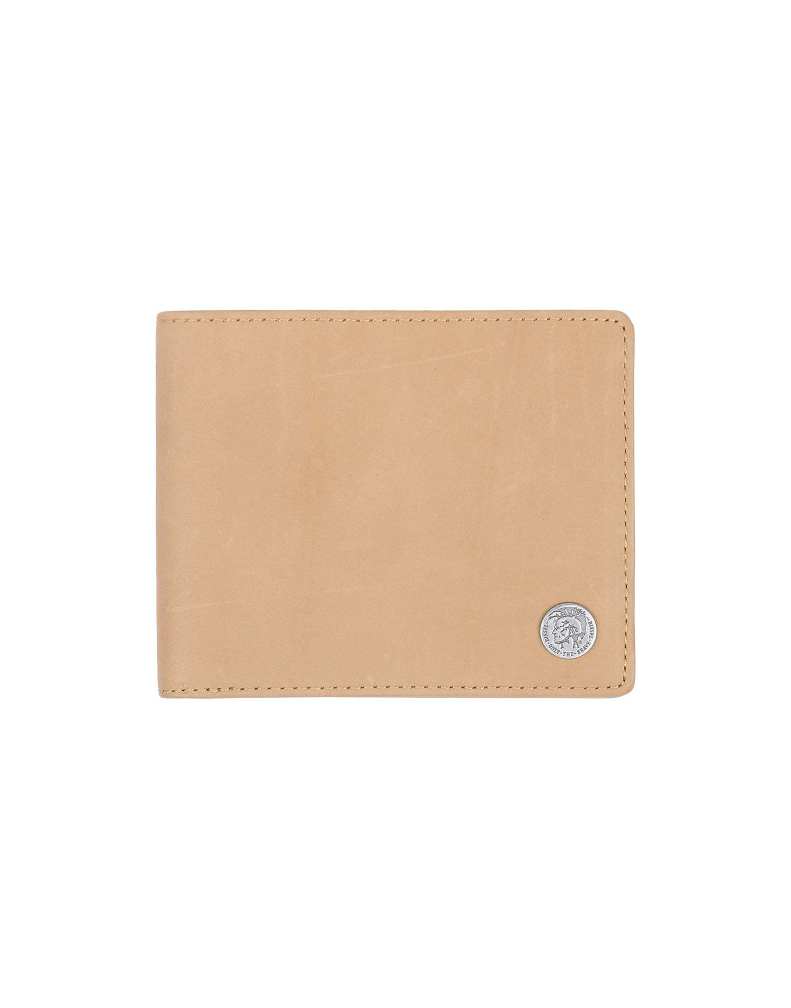 《送料無料》DIESEL メンズ 財布 サンド 羊類革 100%