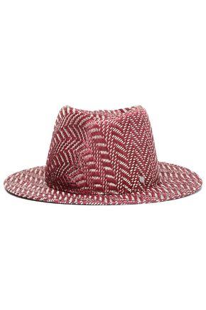MAISON MICHEL ストロー ソフト帽