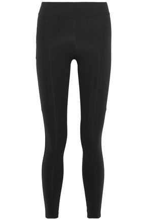 SÀPOPA Ruffle-trimmed stretch leggings
