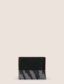 ARMANI EXCHANGE CAMO MOTIF TEXTURED BILLFOLD Small Leather Good Man d