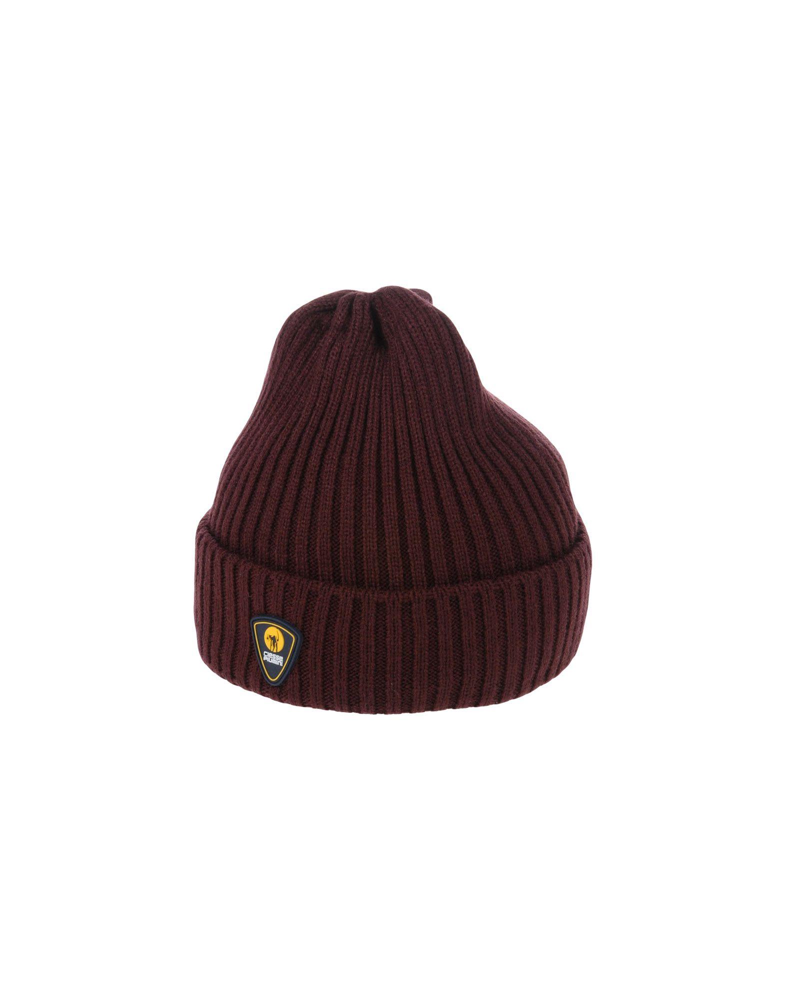 《送料無料》CIESSE PIUMINI メンズ 帽子 ディープパープル one size アクリル 100%