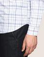 ARMANI EXCHANGE LONG-SLEEVE TARTAN PRINT SHIRT Long sleeve shirt Man b