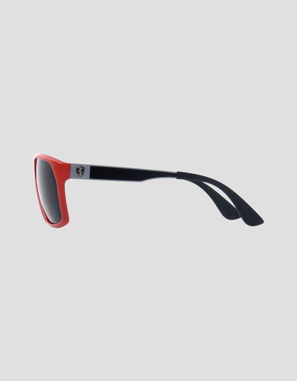 Scuderia Ferrari Online Store - Ray-Ban x Scuderia Ferrari 0RB4309M red sunglasses - Sunglasses