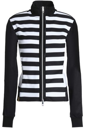 MONREAL LONDON Striped mesh jacket
