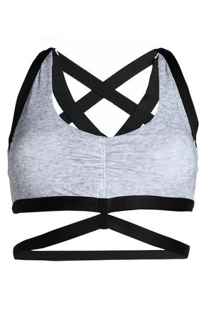 MONREAL LONDON Mélange stretch sports bra