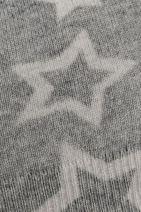 AUTUMN CASHMERE Printed cashmere beanie