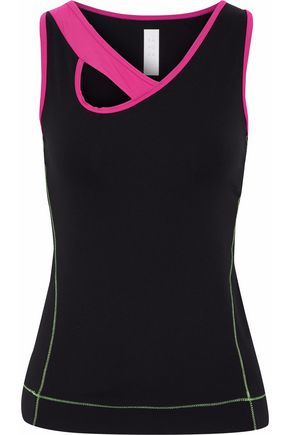 SÀPOPA Von asymmetric cutout stretch tank
