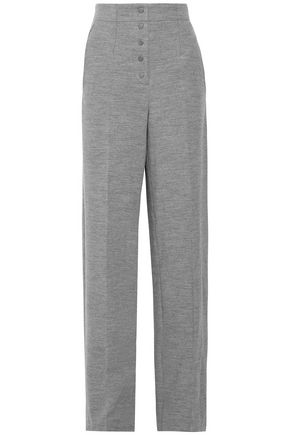 STELLA McCARTNEY Wool wide-leg pants