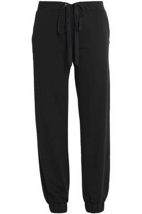 BODYISM French cotton-blend terry track pants