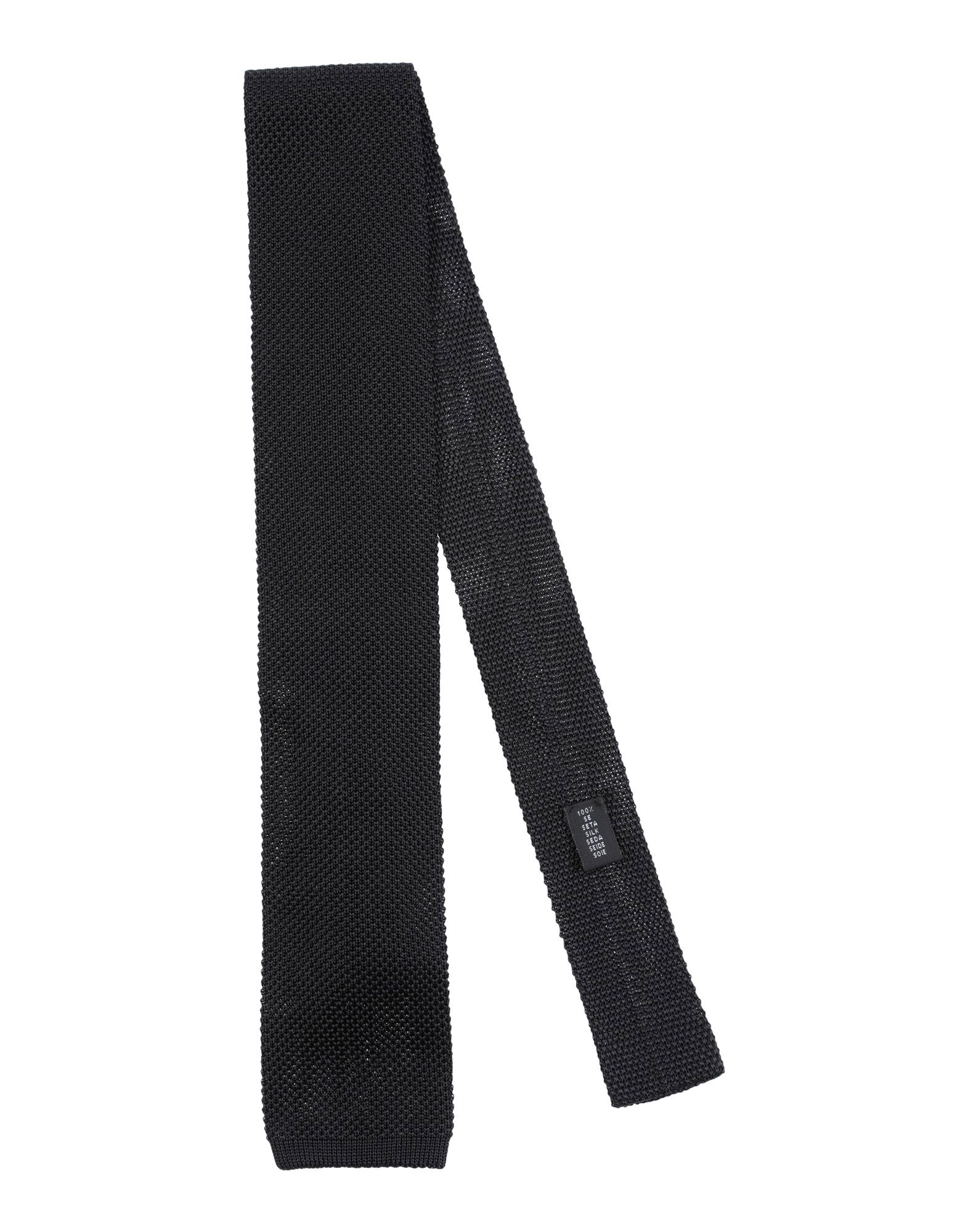《送料無料》GALLIENI メンズ ネクタイ ブラック シルク 100%